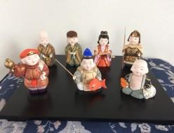 七福神日本人形木目込み人形