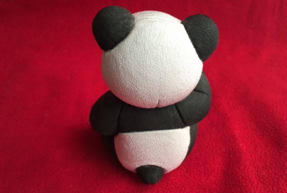 木目込人形 パンダ 可愛い シャンシャン 久蘭 久月
